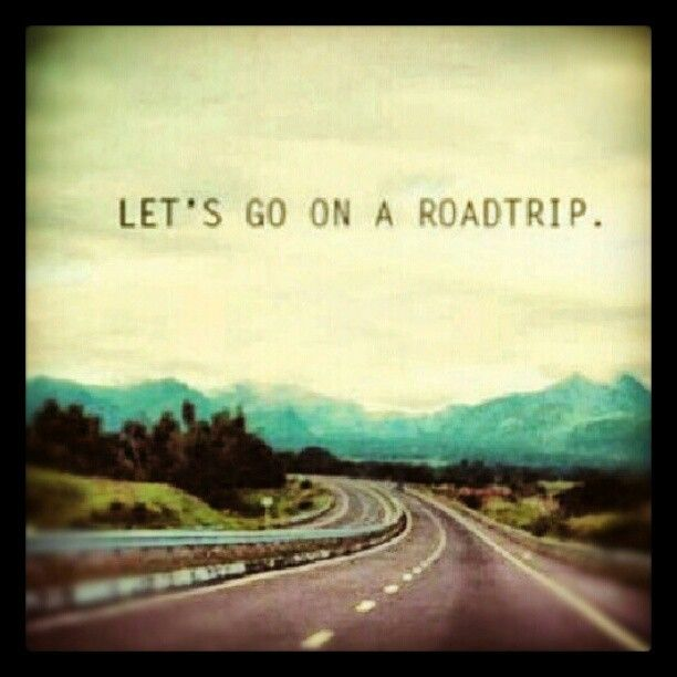 let's go on road trip