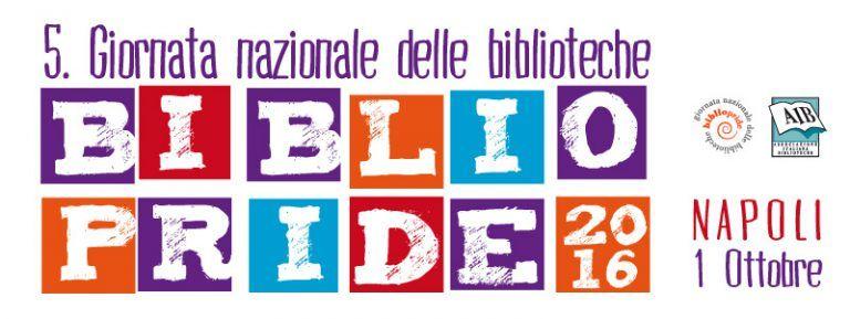 Italy: Giornata nazionale delle biblioteche Bibliopride 2016