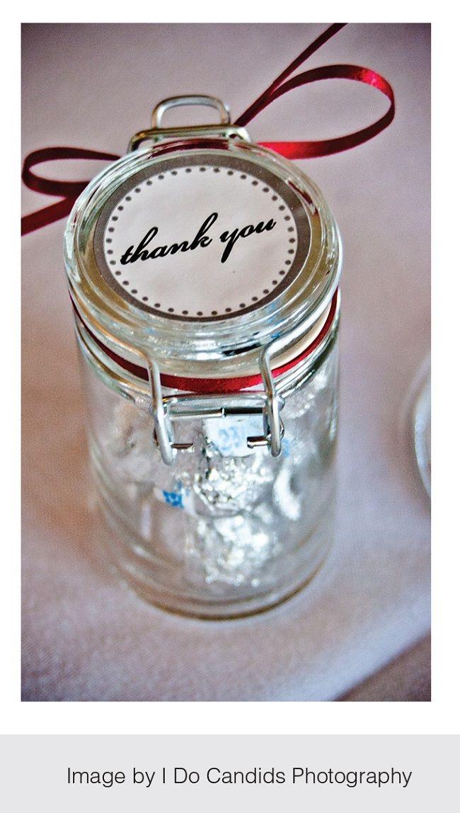A jar full of kisses AZ Interest Simple Wedding Favor Ideas
