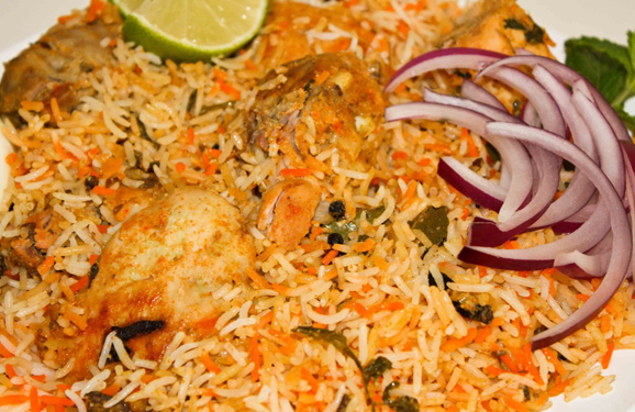 Hyderabadi biryani is hyderabads most famous meat and rice dish dishes forumfinder Choice Image