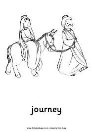Mary And Joseph Travel To Bethlehem Google Search Nativity
