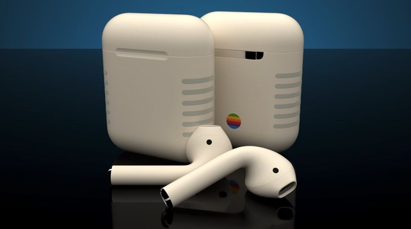 Colorware Debuts Customized Classic Apple Iie Design For Airpods