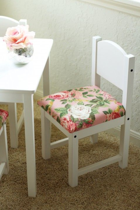 Diy Fancied Up Kids Table And Chairs Ikea Hack Ikea Kids Table