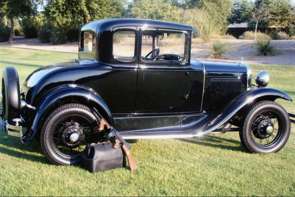 1930 Ford Model A Coupe -- The same style car American gangster ...
