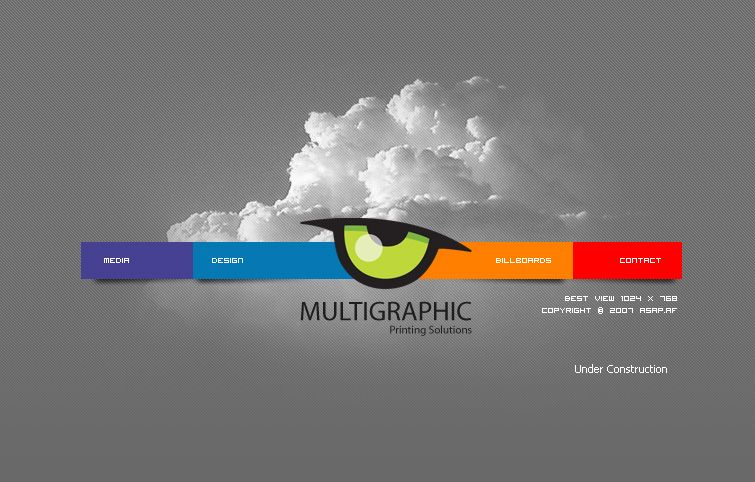 Multigraphic Website by nabJaan.deviantart.com on @deviantART