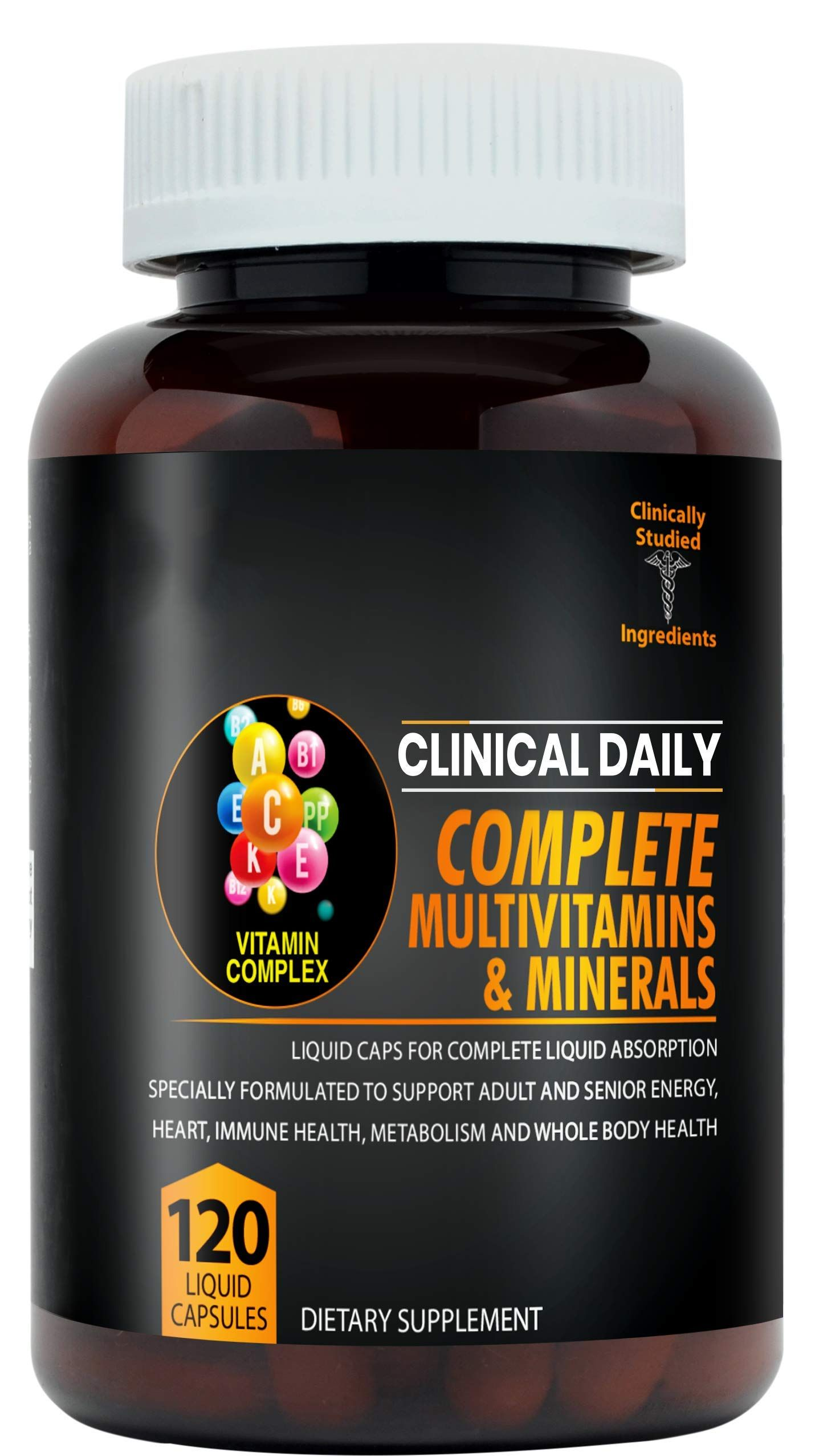 Multivitamin supplement absorption superfood vegetables in