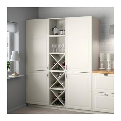 TORNVIKEN Wine shelf, offwhite IKEA in 2020 Liquor