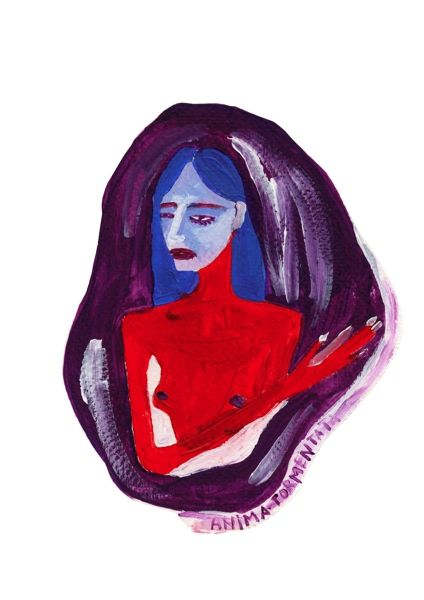 Virginia Burlina drawing