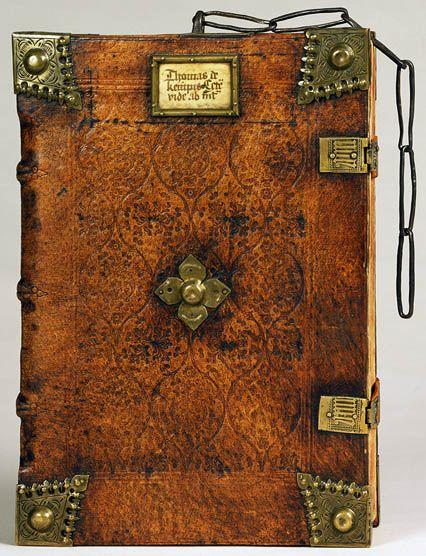 Thomas A Kempis Opera Nuremberg 1494 A Livre Ferme