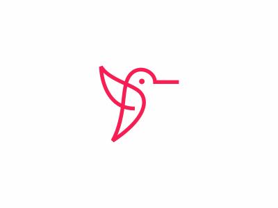 Hummingbird Logo Unique Logo Design Graphic Design Print Logo Design