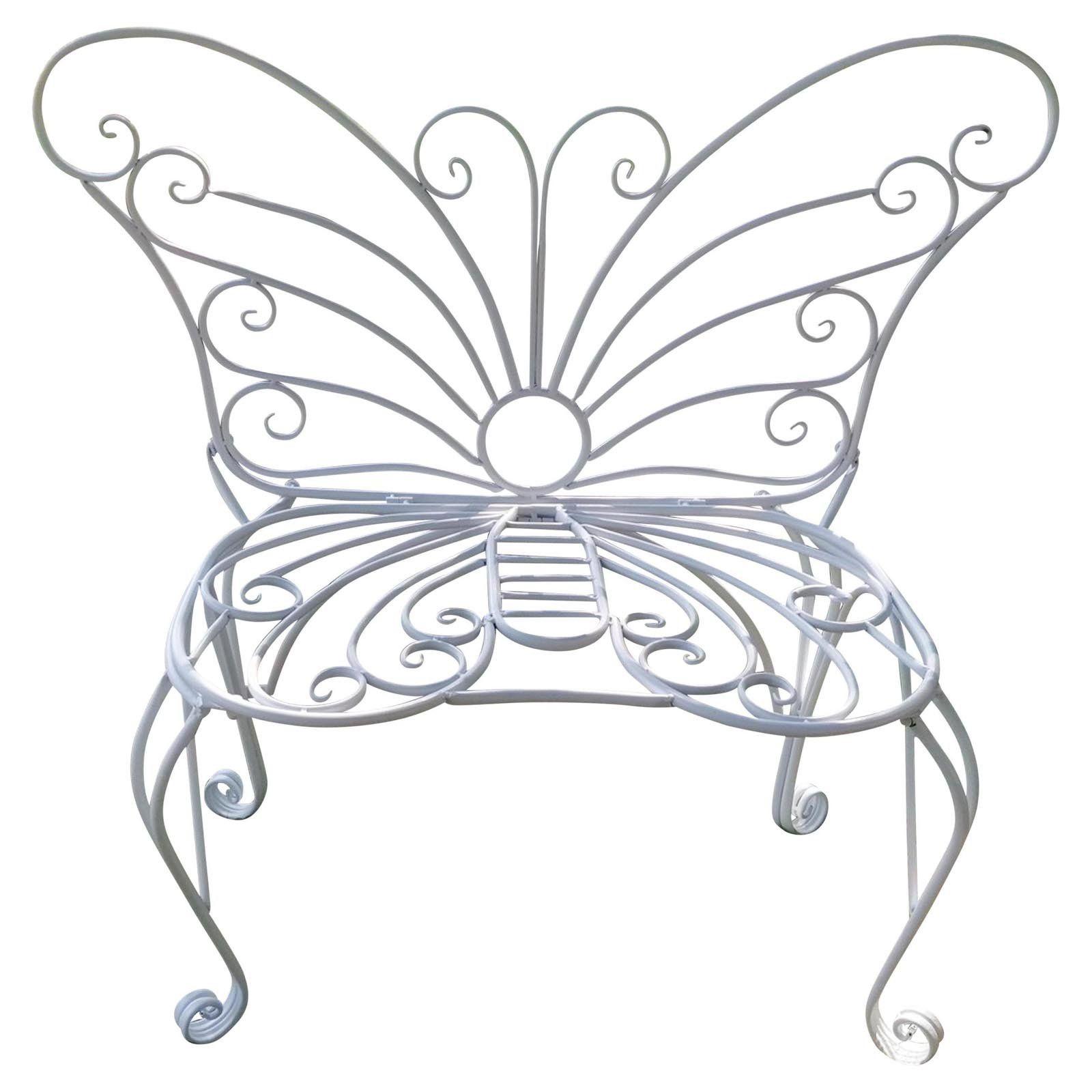 Outdoor Hi Line Gift Ltd Metal Garden Butterfly Bench In 2020
