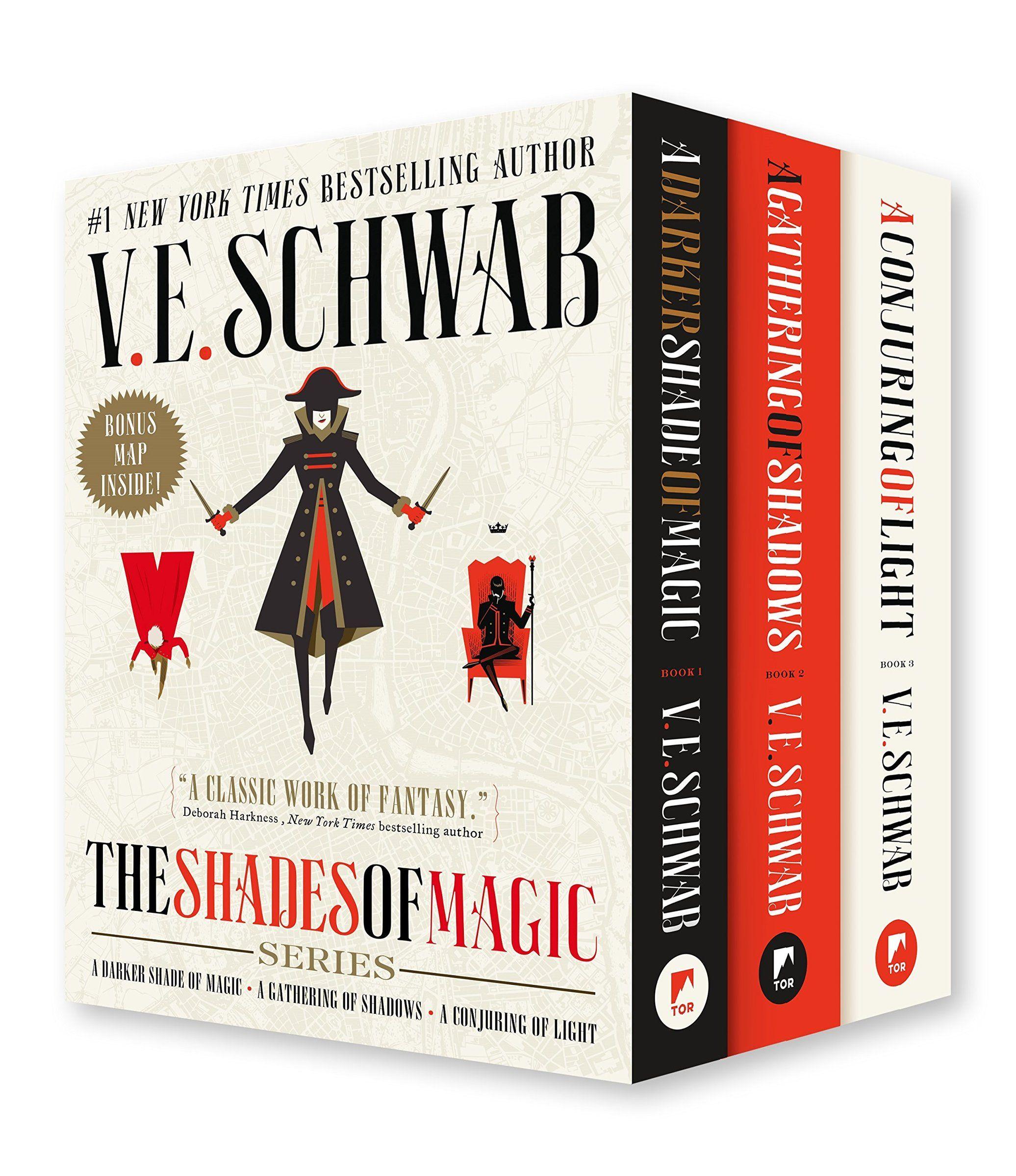 Pin By Bookalicious On Boxsets A Darker Shade Of Magic A