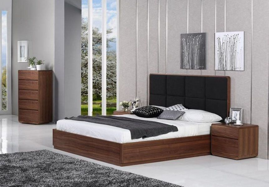 Refined Wood Modern Platform Bed Click Image To Close