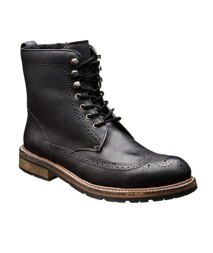 John Varvatos Star USA | Leather Wingtip Boots | Boots | Harry Rosen | 498