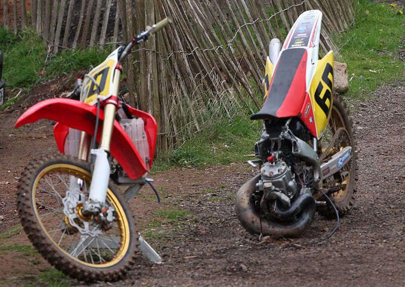 S1200 Broken500afframe Jpg 800 568 Vintage Motocross Custom Dirt Bike Motocross
