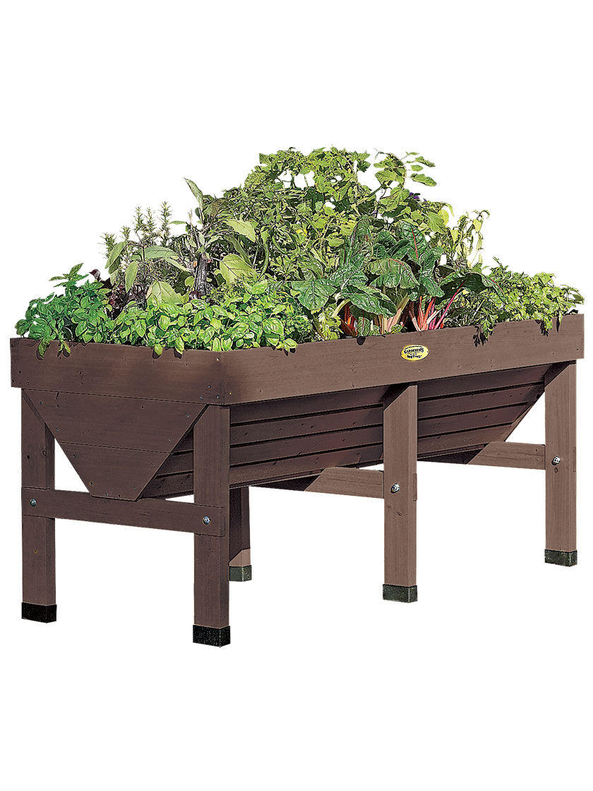 Vegtrug Patio Garden Gardener S Supply Raised Garden Planters