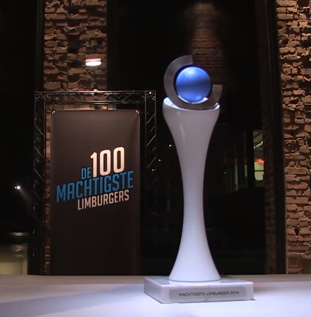 De Machtigste Limburger - 3D printed award 3