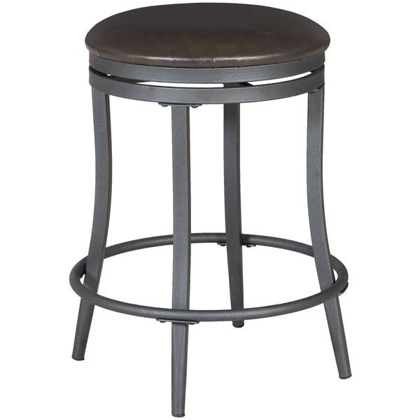 Backless Swivel 24 Barstool By Crown Mark Is Now Available At American Furniture Warehouse Our Great Selection And Save