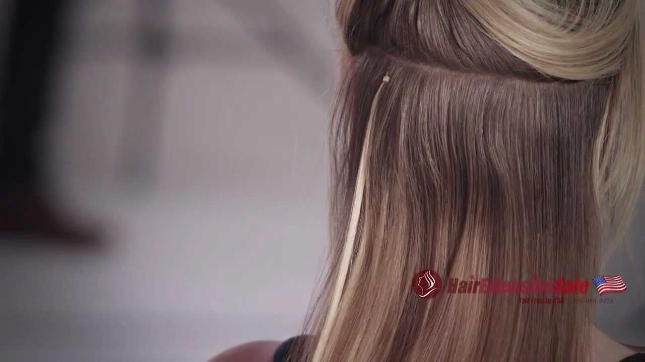 How To Apply Micro Loop Hair Extensions Professional