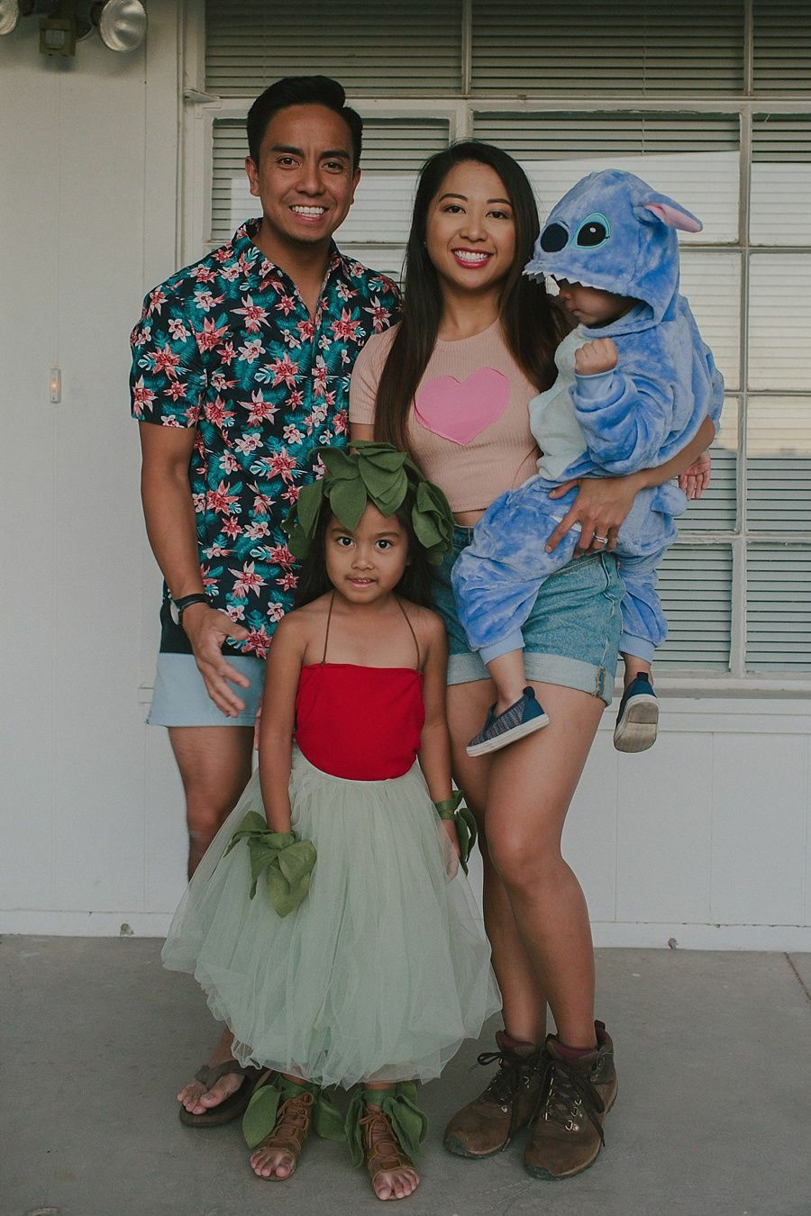 Lilo Stitch Family Halloween Costumes In 2020 Family Halloween Costumes Lilo And Stitch Costume Kids Halloween Costume Outfits