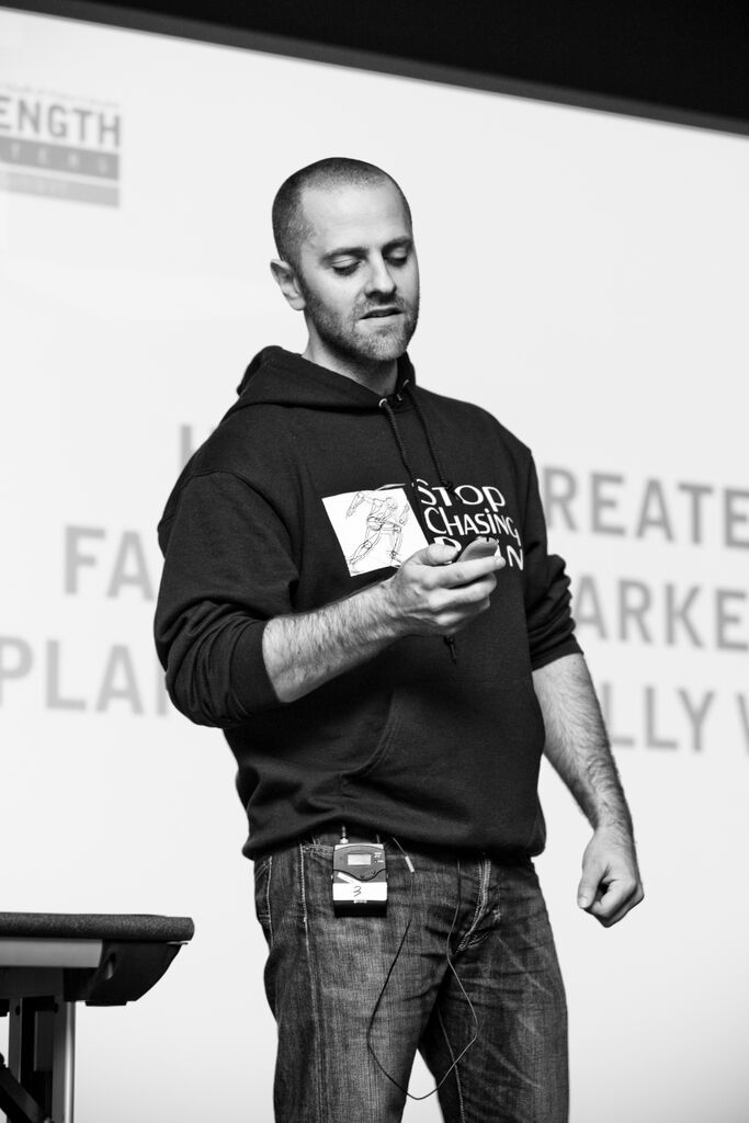 James Breese - Strength Matters 2014 Speakers. #strengthmatters #summit #speaker #uk