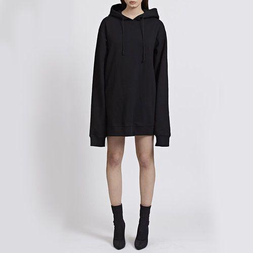 ce0f7ab036 DANIELLE GUIZIO OVERSIZED DRESS HOODIE  oversized  hoodie Oversized Hoodie  Dress
