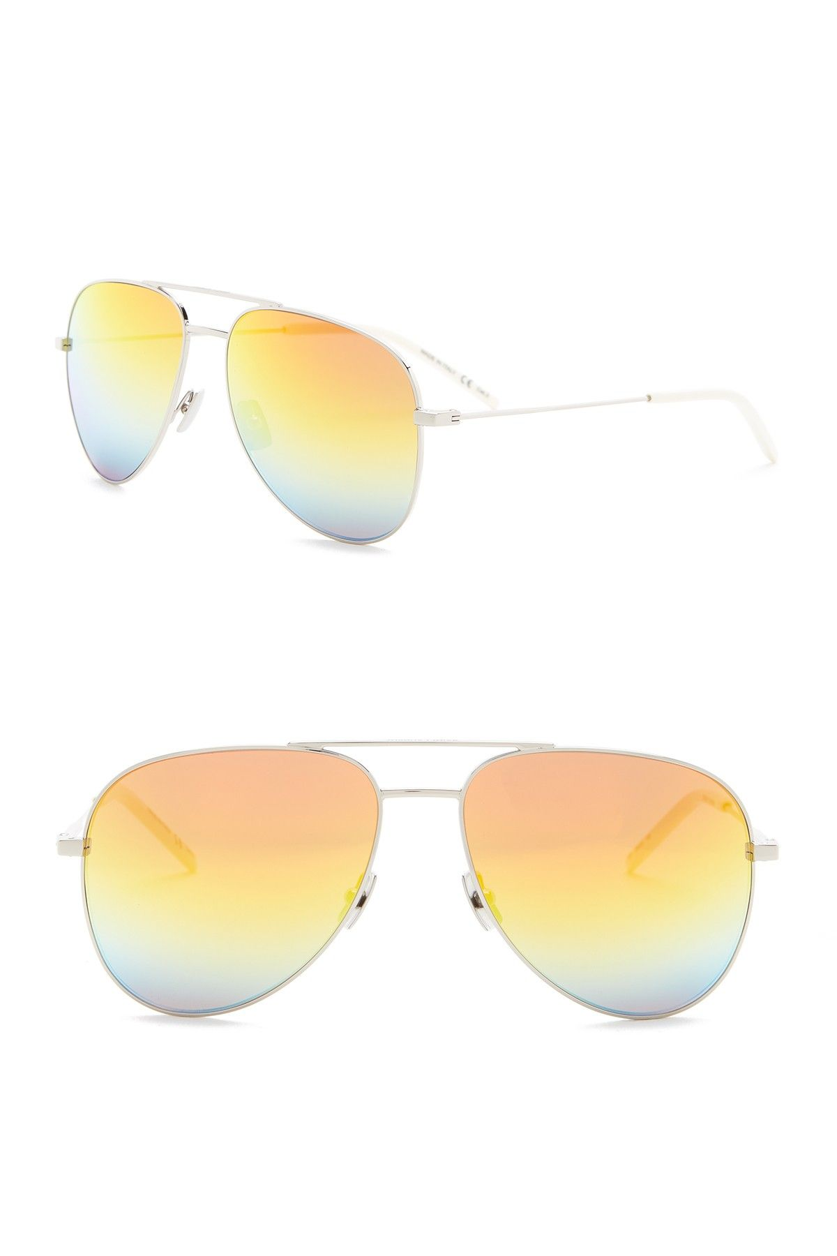 e0007f19d339b Saint Laurent - 59mm Aviator Sunglasses is now 68% off. Free Shipping on  orders over  100.
