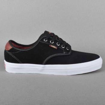 Vans Chima Ferguson Pro Skate Shoes - Black/Mahogany - Vans from Native  Skate Store