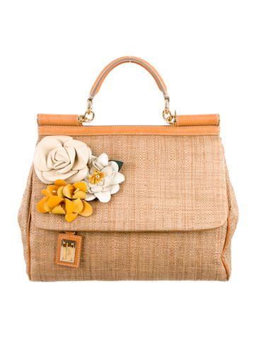 dd2fd24aa6 ... buy popular 46a99 95c9a Dolce Gabbana Woven Miss Sicily w Tags ...