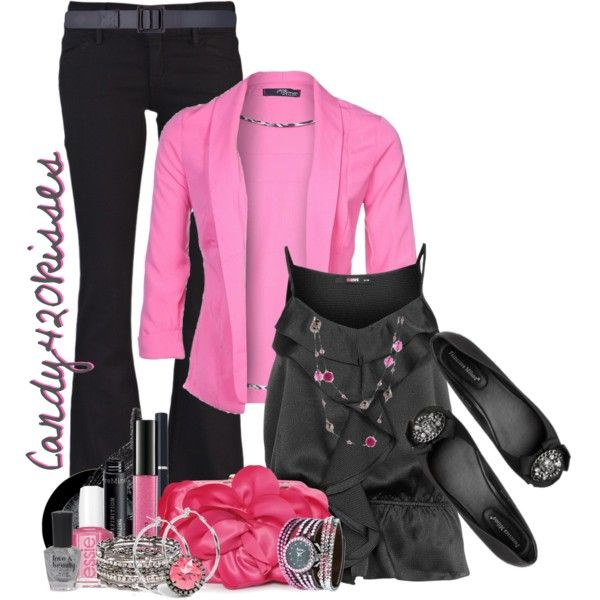 #pinkcardigan