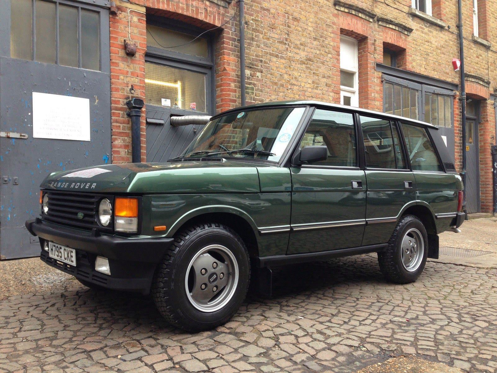 1990 Land Rover Range Rover Vogue Auto Restorationice in