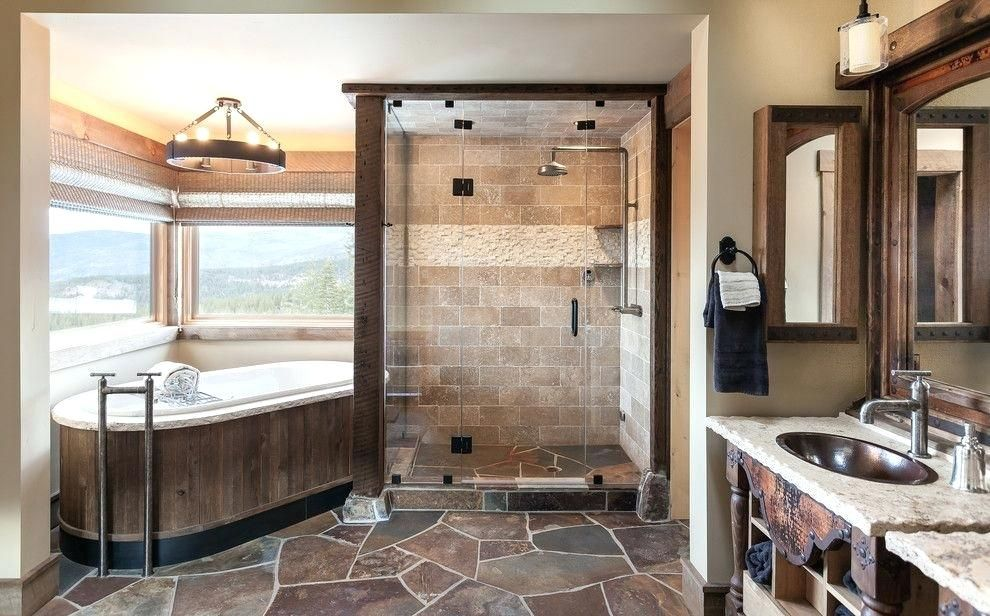 40 Master Bathroom Ideas You Wouldn T Dare To Miss Remodel Rustic Decor Luxury Modern White T Farmhouse Master Bathroom Bathroom Design Rustic Bathrooms