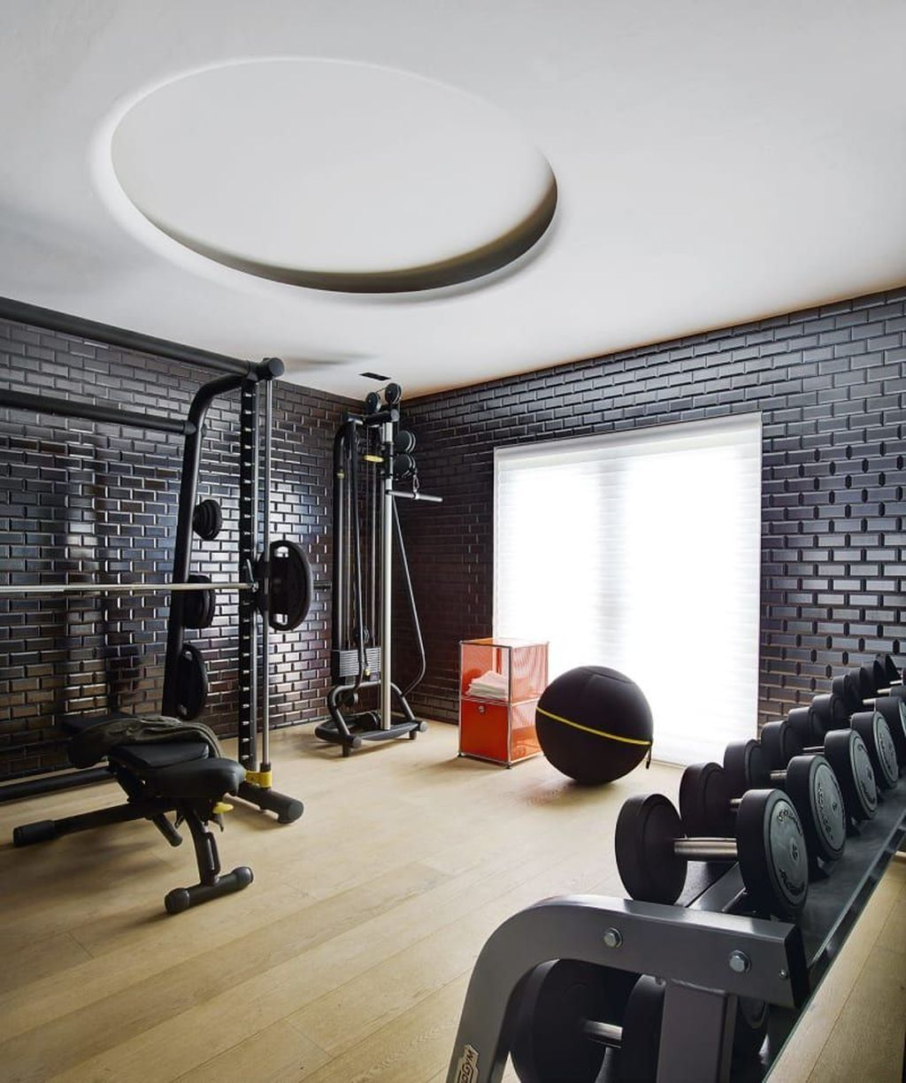 Awesome 20+ Outstanding Home Gym Room Design Ideas For