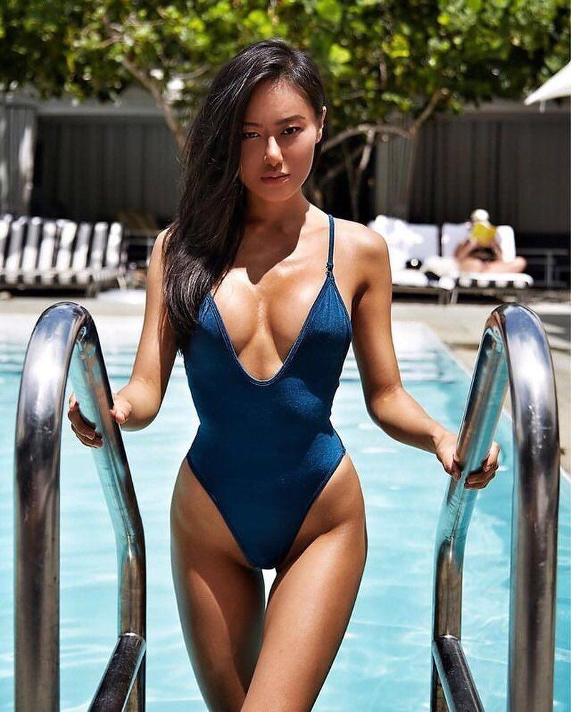 models fitness Asian asses female