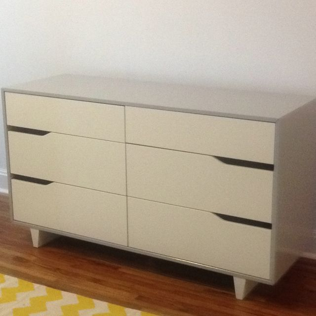 Ikea Mandal Dresser painted grey Im actually making this