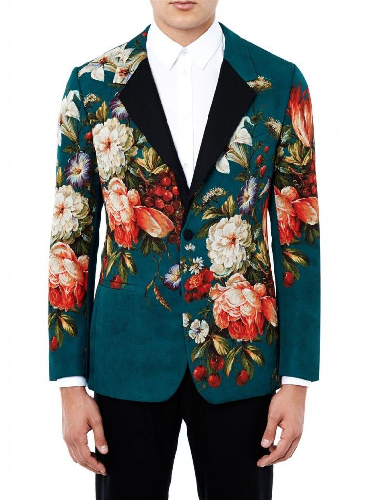 9 Ways to Wear Floral Prints this Summer | Mens floral blazer ...