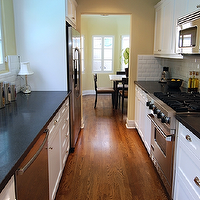 Jeff Lewis Kitchen Design Pleasing Jeff Lewis Design  Kitchens  Galley Kitchen White And Black Decorating Inspiration