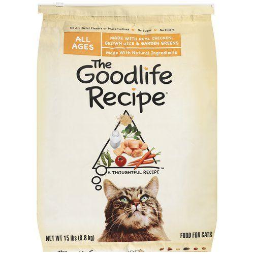 1 1 Goodlife Cat Food Coupon 5 98 At Walmart Kitten Food Dry Cat Food Cat Food Coupons