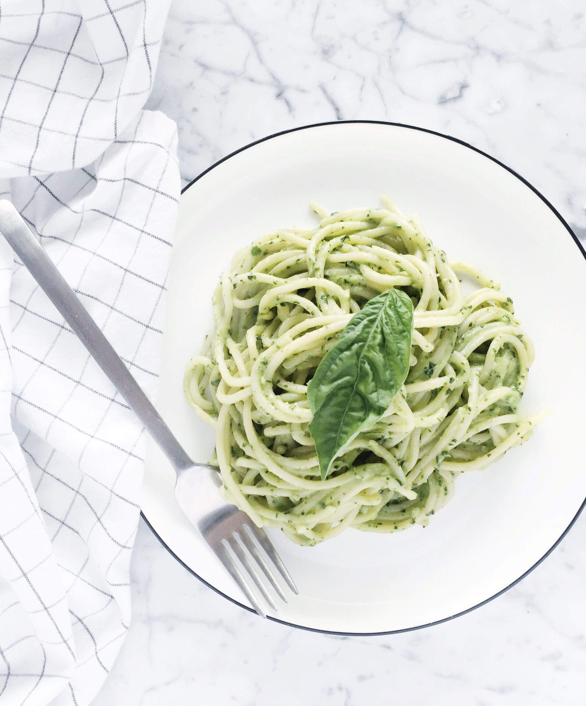 This Has To Be One Of The Most Perfect Pastas On Earth Brimming With Flavour From Fresh Garlic Mounds Avocado Pasta Stuffed Avocado Healthy Pasta Nutrition