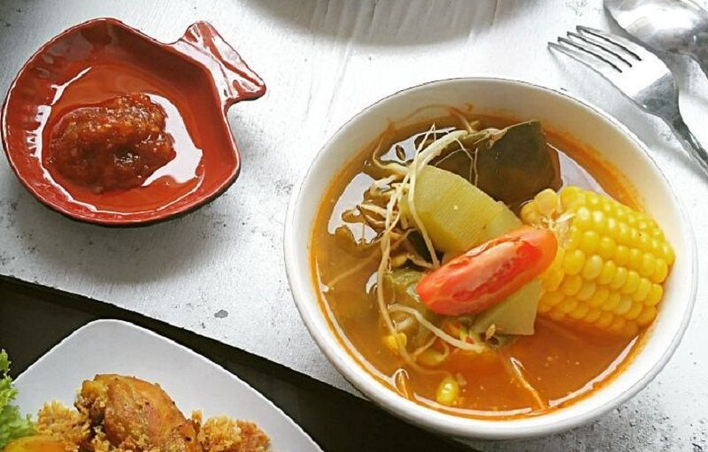 Resep Komplit Sayur Asem Jakarta Resep Di 2020 Labu Masakan Sayuran