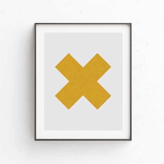Affiche Scandinave, Gold Wall Art, Modern Abstract Geometric Art ...