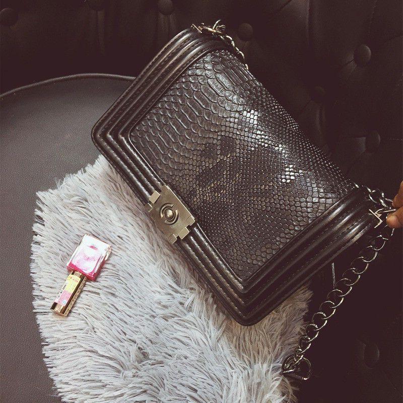 Torebka Chanelka Boy Pikowana Skora Weza Czarna 6192986679 Oficjalne Archiwum Allegro Fashion Bags Handbags Womens Crossbody Bag Shoulder Bag