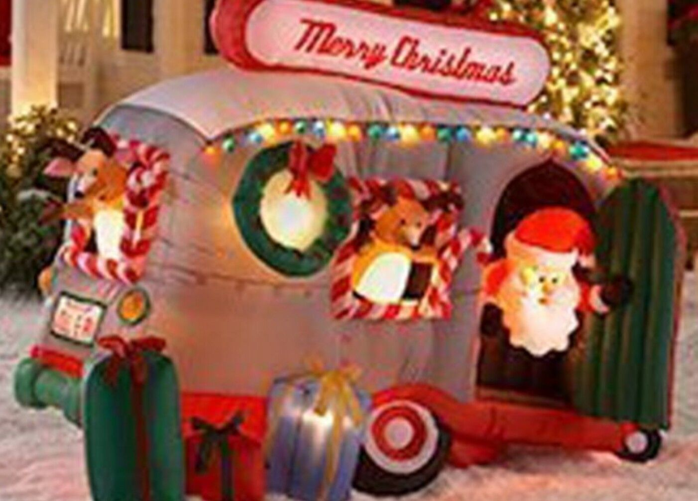 discover ideas about christmas lawn decorations the inflatable