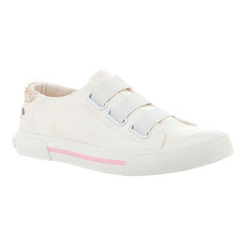 2f42aa873d767 Women's Rocket Dog Jamaica Slip-On Sneaker - White 8A Canvas/Solar Power Cotton  Sneakers