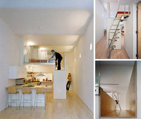 Small Lofts micro apartments: 15 inspirational tiny spaces | tiny spaces