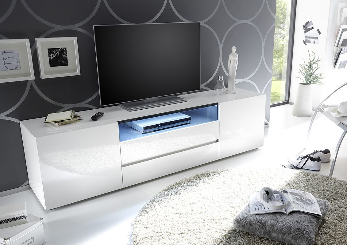 Design Tv Meubel Kast.Vicenza 185 Zwevend Tv Meubel Tv Stands Witte Kamers