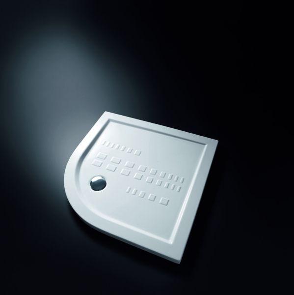 Piatto doccia Slim angolare 80x80xh5,5