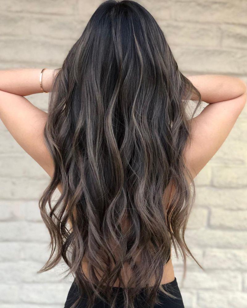 40 Chic largo ondulado Peinados para inspirarte #brownhaircolors El peinado más atractivo y