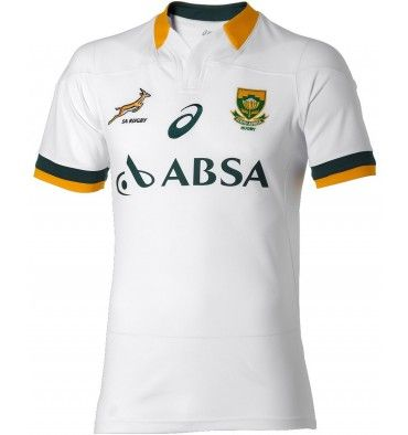 Asics South Africa Springboks Away Fan Rugby Jersey Http Www Fentonsportsonline Com Rugby 5227 Thickbox Default Asics South Afr Rugby Jersey Rugby Rugby Kit