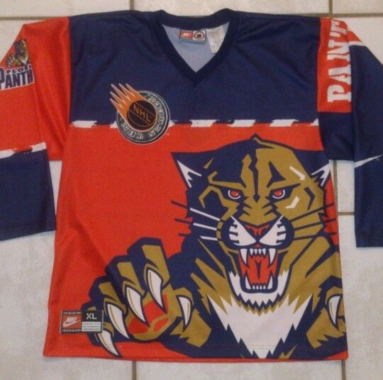 new product 270ae 3ca9f Vintage NIKE Florida Panthers Jersey | Hockey | Mens tops ...